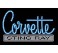 Corvette Stingray Neon Sign on Corvette Neon Sign The Corvette Stingray Neon Sign Is A Popular