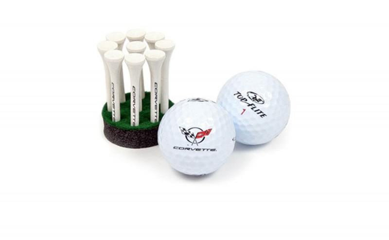 x-2504-c5-corvette-emblem-golf-ball-tees-gift-set