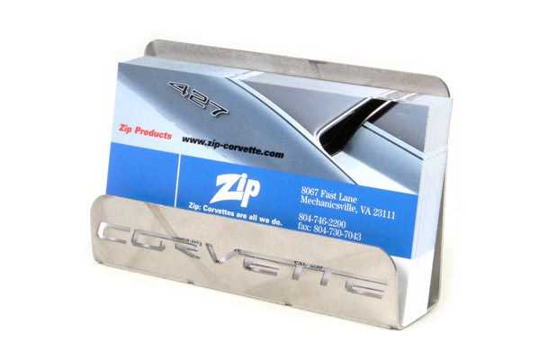 Corvette office accessories corvette gifts for Corvette business card holder