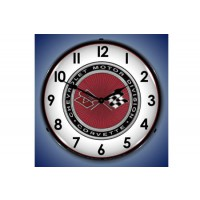 c3-lighted-corvette-clock-gift